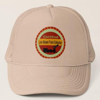 Live Steam Train Collector Hat