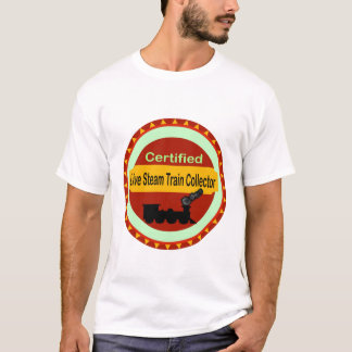 Live Steam Train Collector T-Shirt