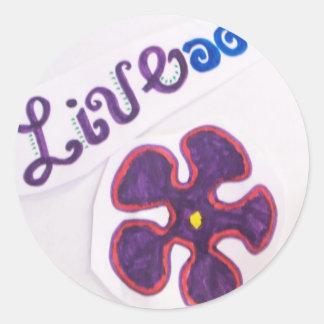 LIve sticker