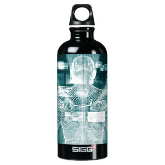 Live Streaming Content Entertainment with Audience Aluminum Water Bottle