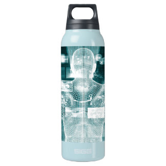 Live Streaming Content Entertainment with Audience Insulated Water Bottle