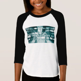 Live Streaming Content Entertainment with Audience T-Shirt