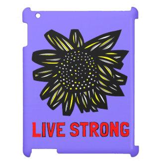 """Live Strong"" 631 Art iPad Case"