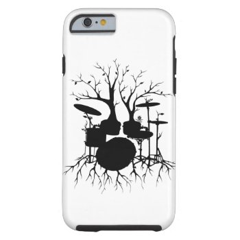 Live the Beat to the Tempo of Creation ~ drum Tough iPhone 6 Case