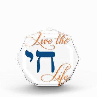 Live the Chai Life Acrylic Award