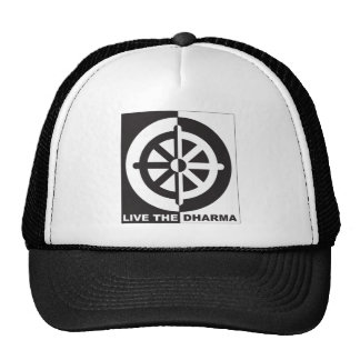 Live the Dharma Trucker Hat
