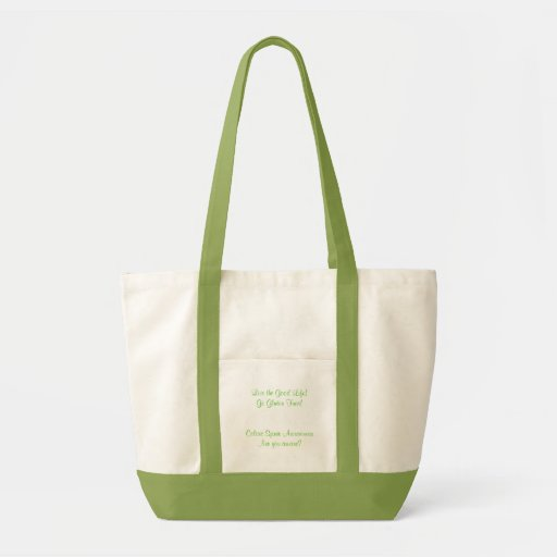 Live the Good Life! Go Gluten Free! Awareness Bag