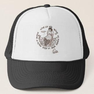 Live the round! trucker hat