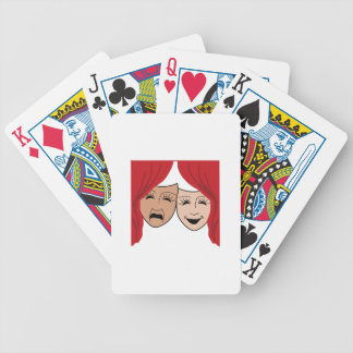 LIVE THEATER BICYCLE PLAYING CARDS