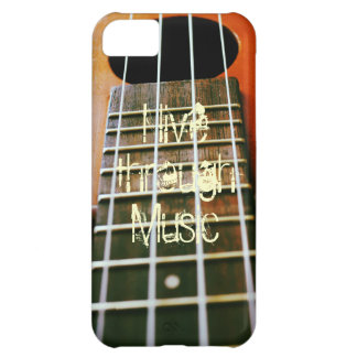 Live through Music iPhone 5C Covers