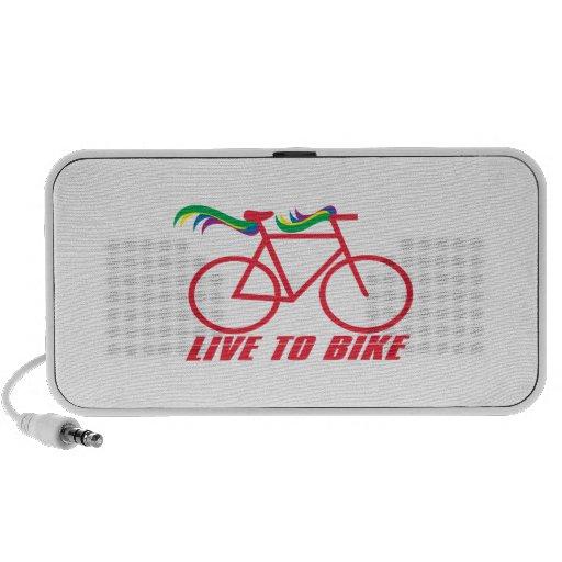 Live To Bike Mini Speakers