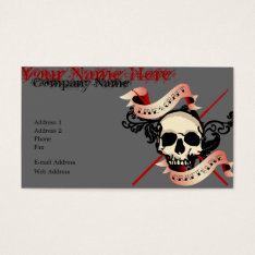 Live To Craft Business Card at Zazzle
