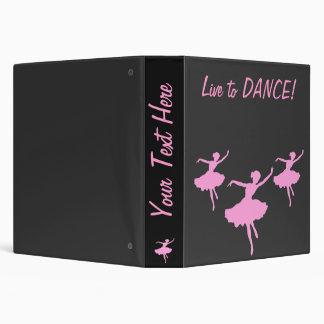 Live to DANCE! Customizable Binder
