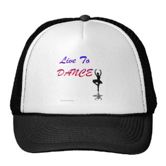 Live To Dance (For Light Colored Products) Trucker Hat