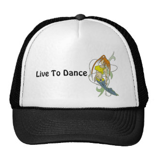 Live To Dance Trucker Hat