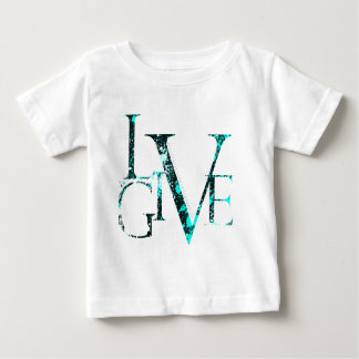 Live to Give baby tshirt