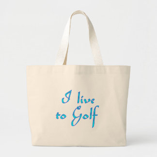 Live to Golf Bag