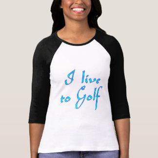 Live to Golf Shirt