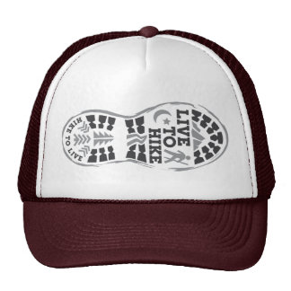 Live to Hike Trucker Hat