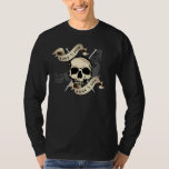 Live to Knit dark color long sleeve t-shirt