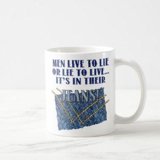 Live To Lie Classic white Mug