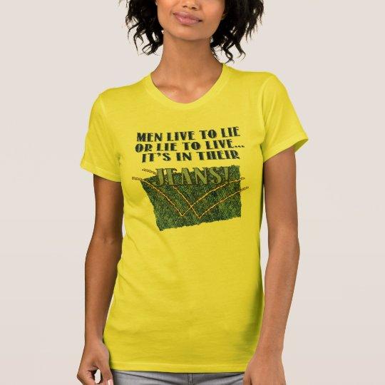 Live To Lie Ladies Petite T-Shirt