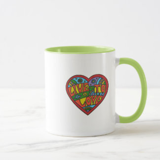 """Live To Love""  Coffee Mug"