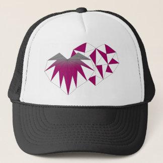 Live to Love Plum Trucker Hat