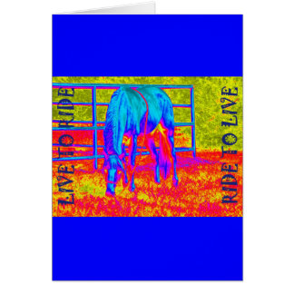 Live to Ride Greeting Card
