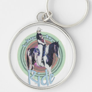 Live to Ride Keychain