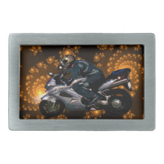 Live To Ride Motorbiker Belt Buckle