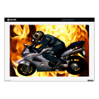 Live To Ride Motorbiker Decals For Laptops
