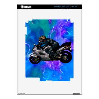 Live To Ride Motorbiker iPad 3 Skins