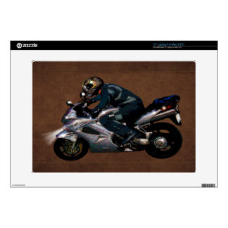 Live To Ride Motorbiker Laptop Skins