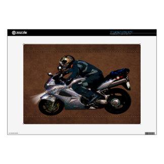 Live To Ride Motorbiker Laptop Skins