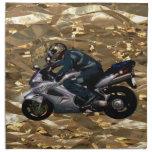 Live To Ride Motorbiker Napkin