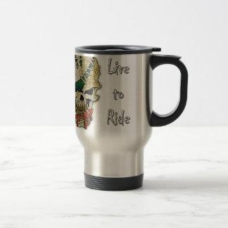 LIVE TO RIDE.png Travel Mug
