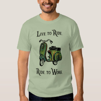Live To Ride - Ride To Work T-shirt