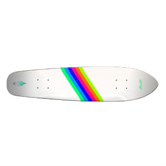 Live to Ride - Stripes Skateboard