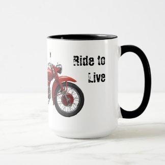 Live to Ride Vintage Mug