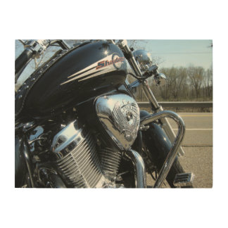 Live to Ride Wood Wall Art