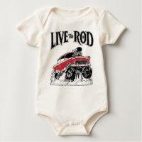 LIVE TO                                                          ROD 1955 Gasser Bodysuits