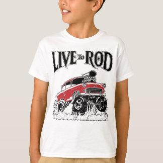 LIVE TO ROD 1955 Gasser T-Shirt
