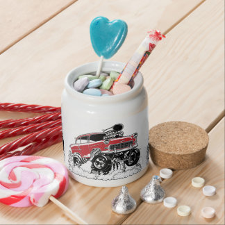 LIVE TO ROD! 55 Gasser Candy Jars
