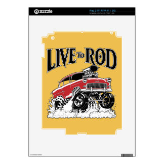 LIVE TO ROD! 55 Gasser Decals For iPad 2