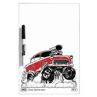 LIVE TO ROD! 55 Gasser Dry Erase Board