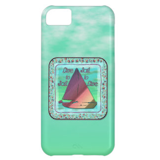 LIVE TO SAIL iPhone 5C COVER