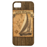 Live To Sail iPhone SE/5/5s Case