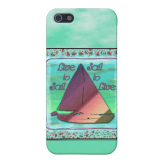 LIVE TO SAIL iPhone SE/5/5s COVER