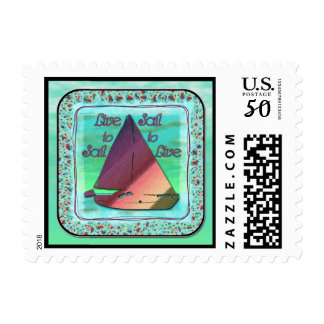 LIVE TO SAIL POSTAGE